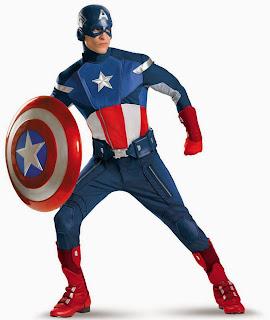 Plus-Size-Captain-America-4th-July-Suit