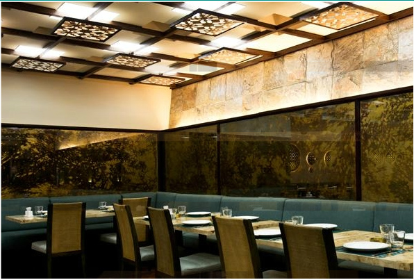 Ambassade du design le restaurant al diwan beirut for Architecture deconstructiviste