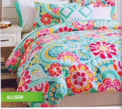 Bed linen teen star motif Allison