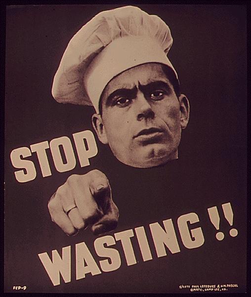 stop wasting%2B%25281%2529 Lindustrie alimentaire jette une alarmante quantité de nourriture