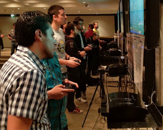 PES 2013 press tour in Brazil