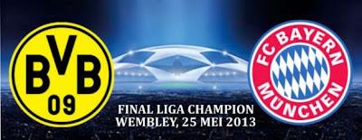 Prediksi Skor Borussia Dortmund vs Bayern Munchen 26 Mei 2013