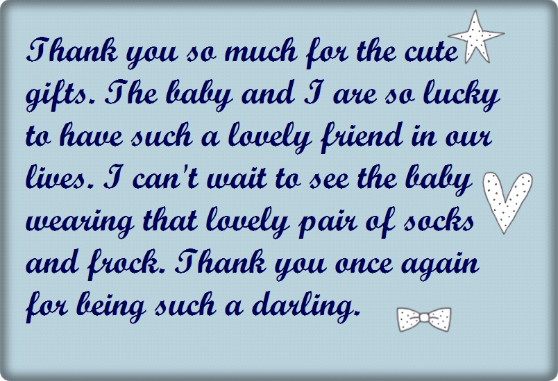 Baby Shower Thank You Wording Poems And Quotes Cute Instagram Quotes