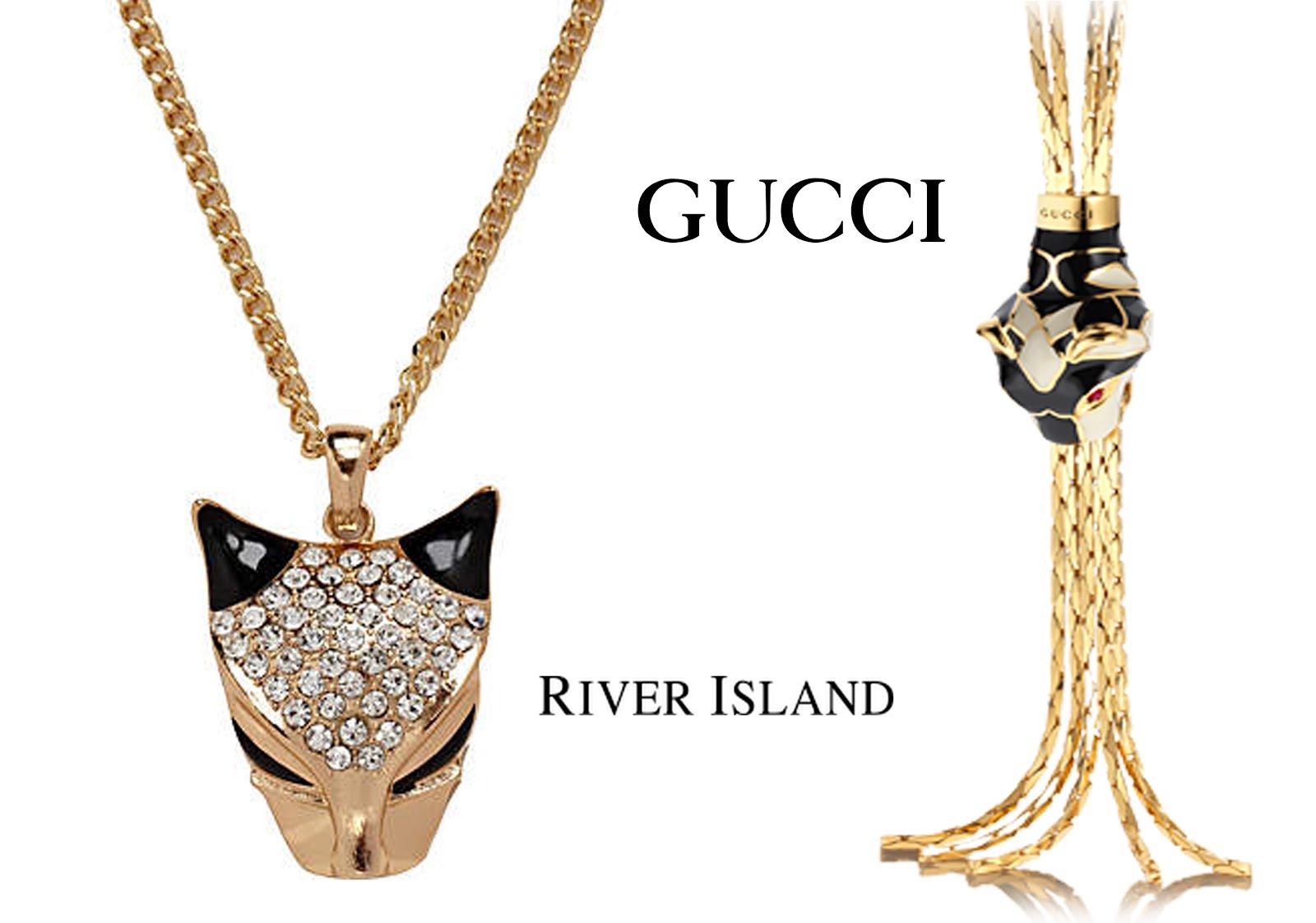 Gucci Tiger head necklace YuyercgOF8