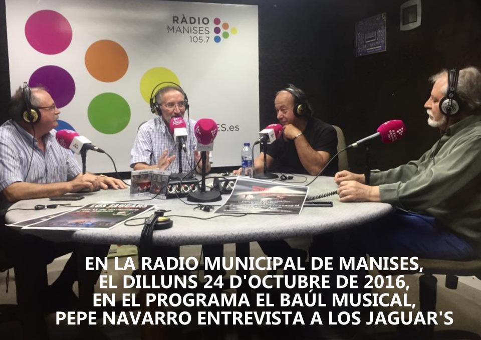 24.10.16 EL BAÚL MUSICAL, EN LA RADIO MUNICIPAL DE MANI SES, PRESENTADO POR PEPE NAVARRO