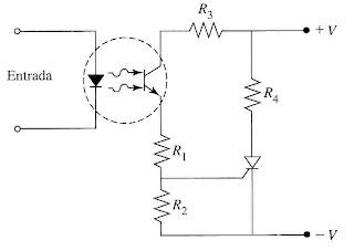 Circuito de dispara de um SCR com acoplador optico