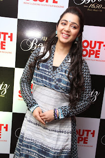 Charmee Kaur Pictures in Salwar Kameez at South Scope Calendar 2014 Launch