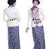Koleksi Baju Muslim Batik Modern Terbaru 2015