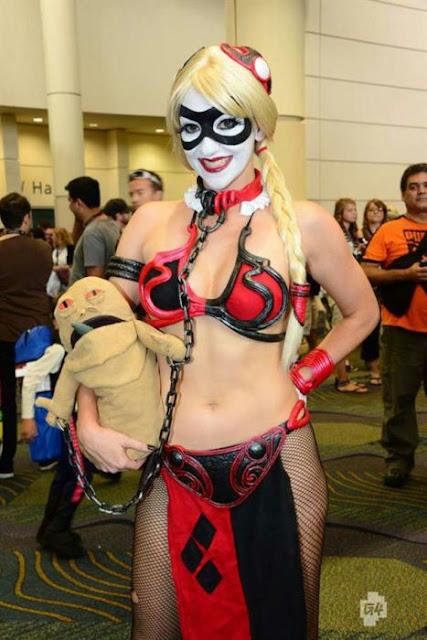 leia harley quin cosplay