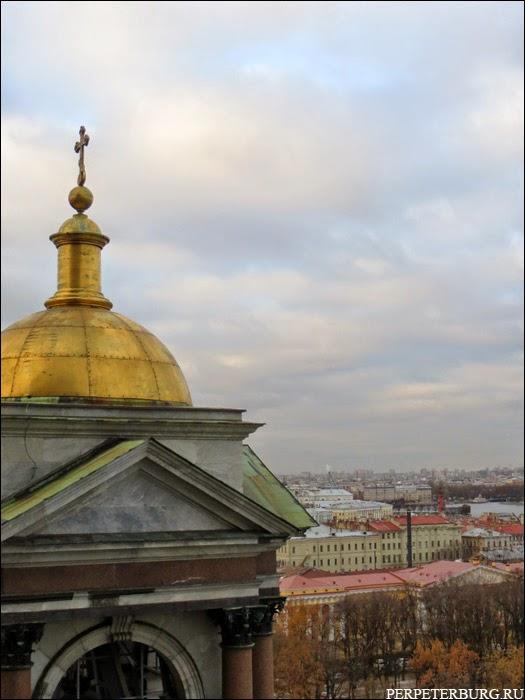 Крыши петербурга - фото с Исаакиевского собора