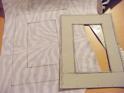 how to make frame from cardboard