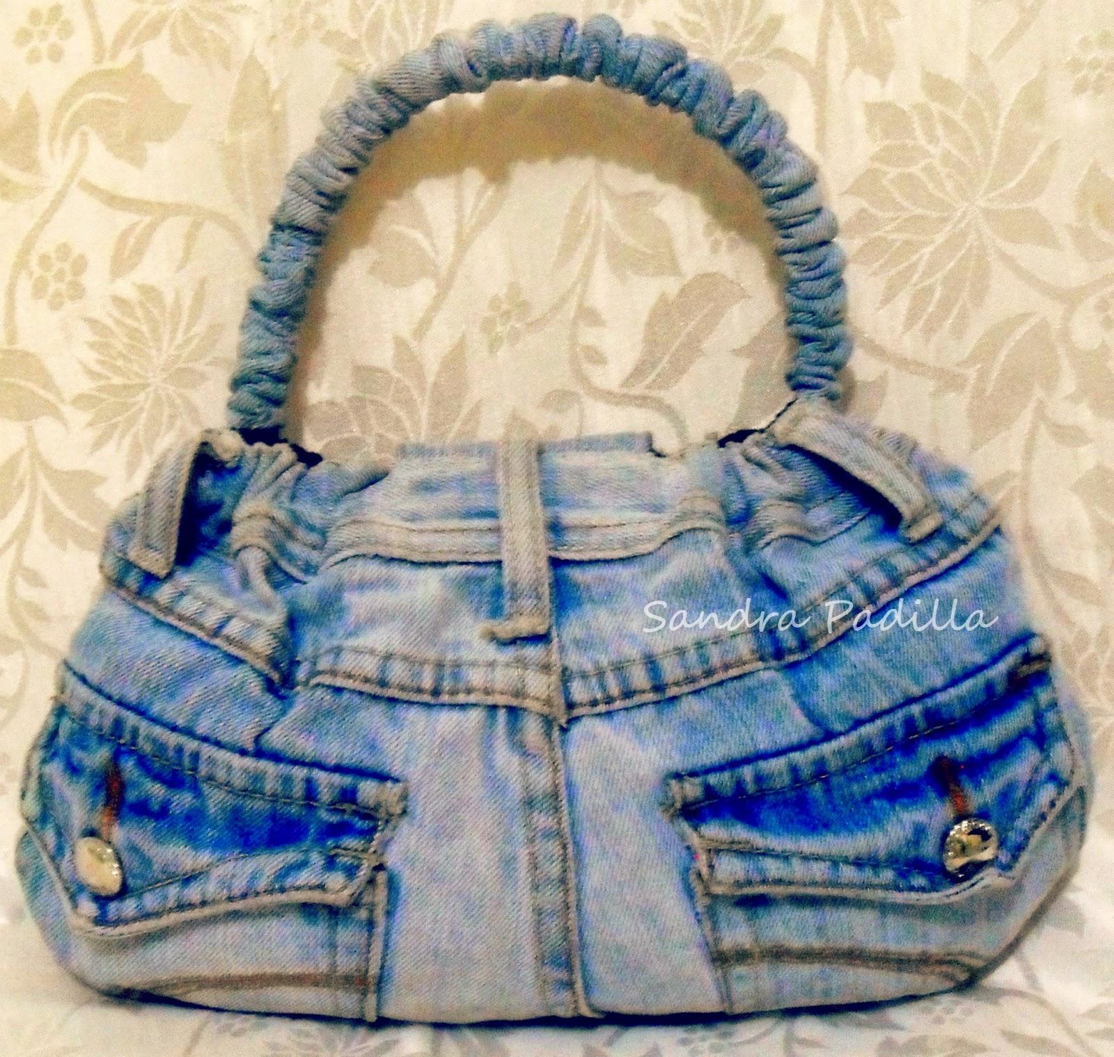 Aprende con sandra padilla diy como hacer un bolso de - Como hacer bolsos con salvamanteles ...