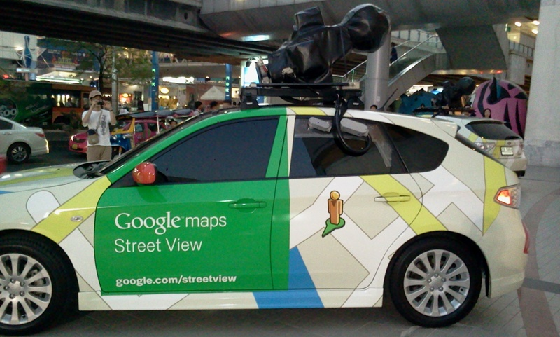 Tarn-IT 24: ถ่ายภาพรถ google street view มาให้ชมกันครับ