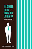 """Portada del libro """"Diario de un opositor en paro"""", de Ángel Company Albert"""