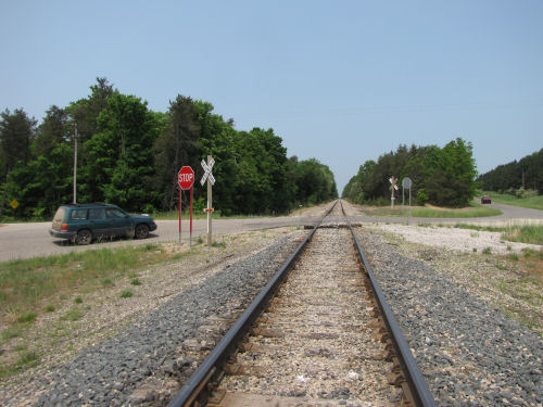 railroad grade crossing