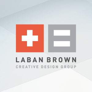 Laban Brown Design Essex - new Identity design - stacked version