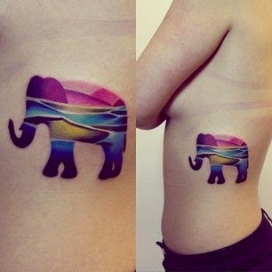 ♥ ♫ ♥ This colorful elephant ♥ ♫ ♥