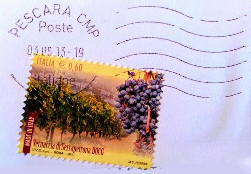 francobollo Vernaccia di Serrapetrona