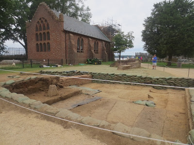 Jamestown Virginia Archaeological Site