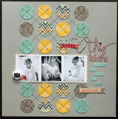 Web Wednesday: My Mind's Eye Nostalgia {Blog-Inspired Layout}