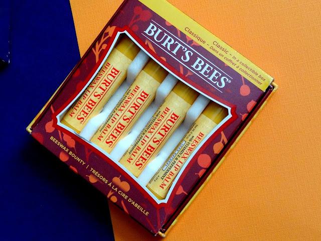 Burt's Bees A bit of burt's bees and classic lip balm beeswax bounty