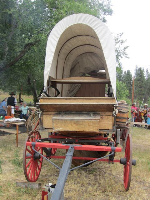 Chuck Wagon for the chuck wagon party
