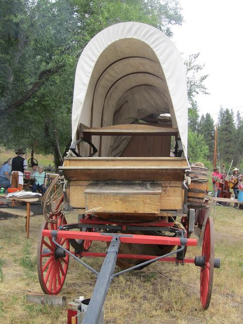 Chuck Wagon for the chuck wagon party