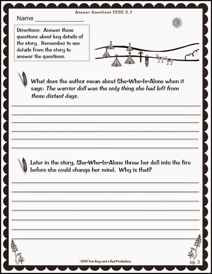 The Best of Teacher Entrepreneurs Language Arts Lesson Legend – Point of View Worksheets 3rd Grade