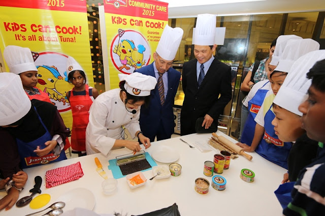 Ayam Brand Kids Can Cook Campaign, Ayam Brand, Kids Can Cook, Charity Campaign