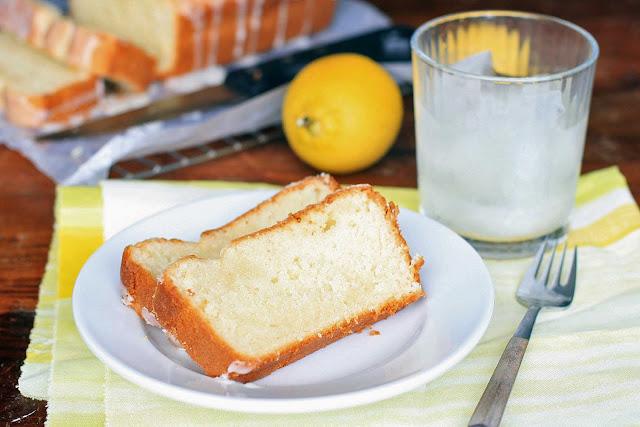 Buttermilk Pound Cake with Meyer Lemon Glaze | Girl Cooks World