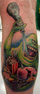Ghostbusters Tattoo Design Photo Gallery - Ghostbusters Tattoo Ideas