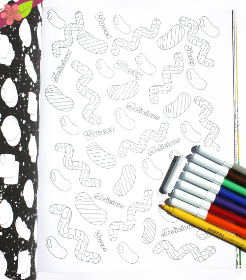 Candy Crush, 80 coloriages à croquer -  Les livres du Dragon d'or