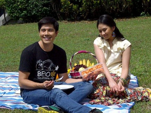 Sarah Geronimo and Paulo Avelino in 'Sara G Presents' Sapilitan