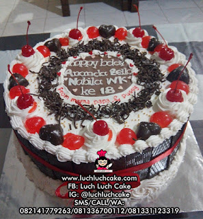 Blackforest Birthday Cake