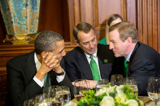 President Obama, House Speaker John Boehner & Taoiseach Enda Kenny  (Credit: White House by Pete Souza)