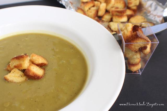 Easy Split Peas soup recipe