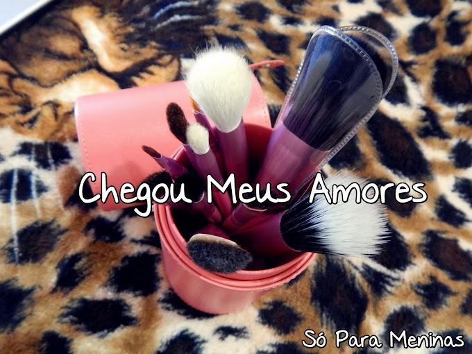 #CHEGOU Meus Pincéis Novos :D