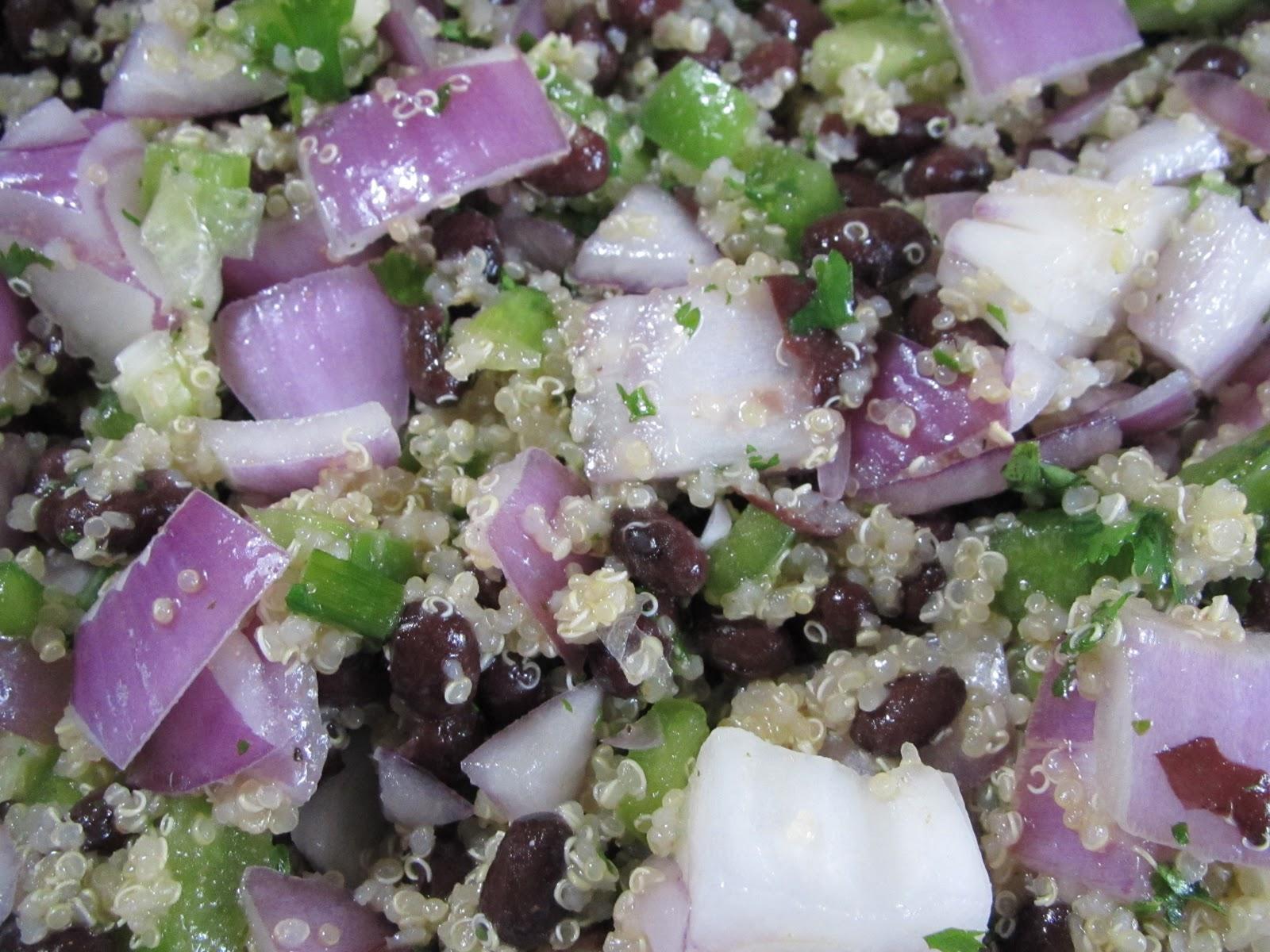 recipe yummly black bean quinoa salad green bean black quinoa salad ...