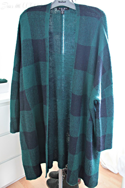 Fashion | Novemberausbeute, blog, shoppingausbeute, josie´s little wonderland, november, cardigan, green, blue, checks, new yorker
