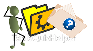 Table quiz helper ideas for quiz rounds for Table quiz rounds