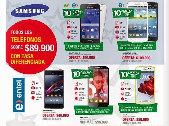celulares de dimarsa navidad 2014