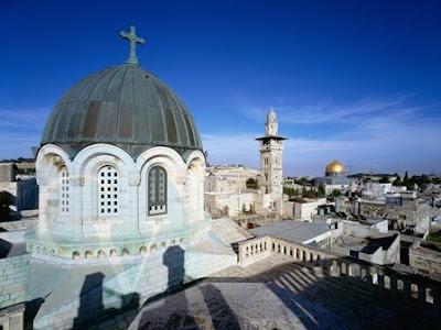 Jerusalen desde los tejados