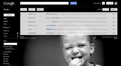 Google Launches Costume Themes for Gmail