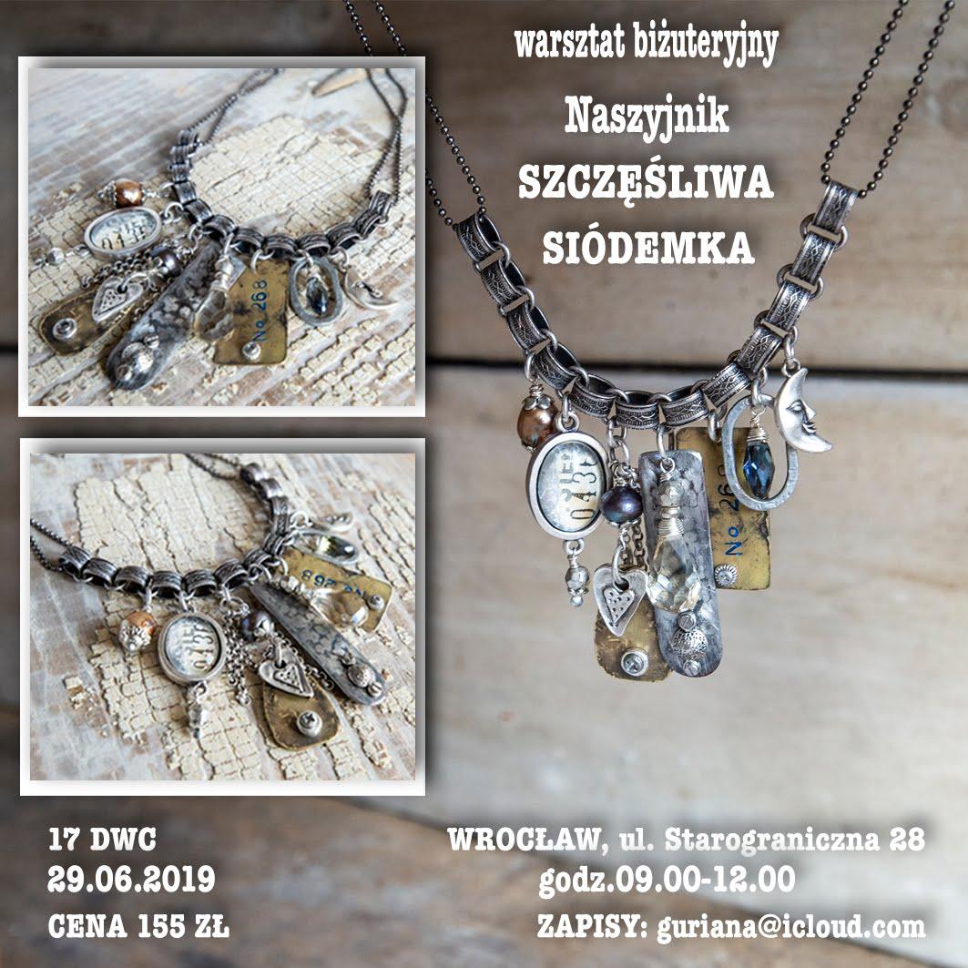 17 DWC Wroclaw Naszyjnik Szczęśliwa siódemka