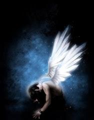 A veces parezco ángel caido, pero no es más que el resuello para un nuevo vuelo.