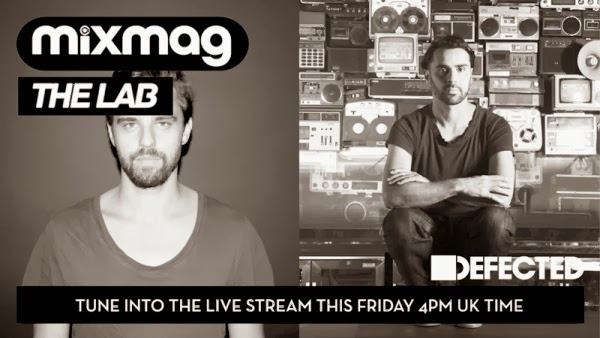 Nick Curly,Yousef and Sam Divine in the Mixmag Lab