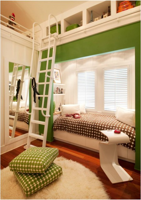 Key interiors by shinay not pink and beautiful teen girl - Beautiful girls bedroom furniture ...