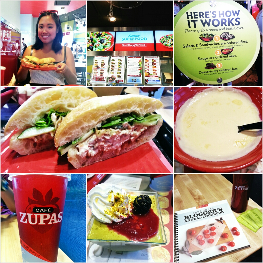 Cafe Zupas At Summerlin