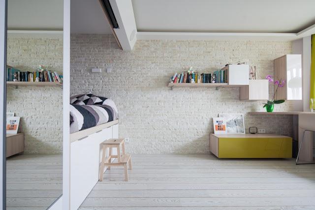 Nội thất căn hộ mẫu chung cư mini Từ Liêm