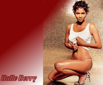 Halle Berry Hollywood Star New Wallpaper 2013